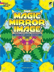 Cover of Magic Mirror Image coloring book