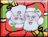 Bruce Bilney's tessellation of Santa Claus