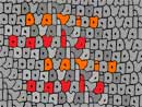 calligraphy autograph tessellation art by doctor david