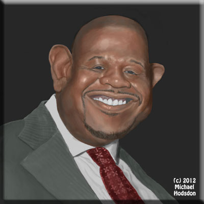 michael hodsdon portrait of forrest whitaker