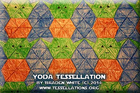 Star Wars Yoda Tesselation