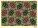 turtle tessellation art