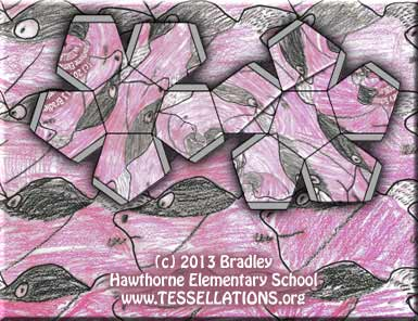 head motif tessellation