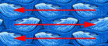 whale tessellation showing a flip mirror reflection