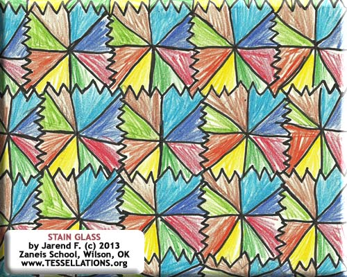 make-your-own tessellation art project