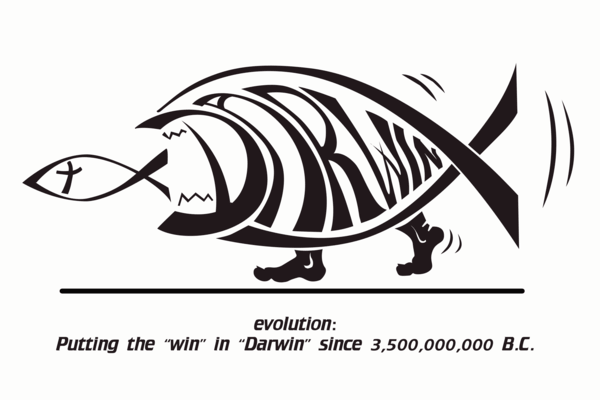 putting the win in darwin since 3,500,000,000 bc