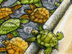 Fascination: A Tessellation of Turtles and Bats